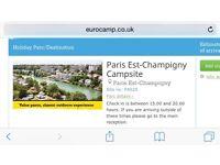 Euro camp caravan