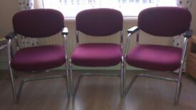 3x top quality office chairs