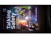 Talking Safety 2nd edition by Dr Tim Marsh paperbackisbn 978-1-4094-66550, unwanted gift