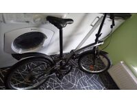 FOLDING BIKE - EXCELLENT CONDITION - BOUGHT 3 MONTHS AGO