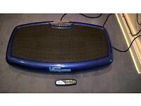 Vibrapower Slim vibration plate exercise machine as new