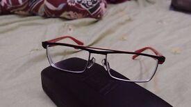 Alain Mikli AL1118 M02E Red/Black Optical frame Men