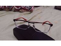 Alain Mikli AL1118 M02E Red/Black Optical frame Men
