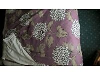 Next 'Hydrangea' quality curtains.