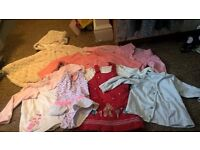 bundle of mixed 6-12 month girl clothes
