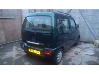 Suzuki Wagon r low milage one owner long Mot