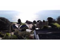 A Large Seaside 2-bedroom flat for rent, Isle of Wight, Ventnor