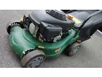 Lawnmower petrol Tlc Working fine ! ! ! but needs throttle body using cable spares repair serviced