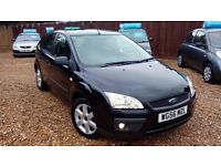 RARE FORD FOCUS SPORT & NEW MOT AND SERVICE ON SALE & 6 MONTH WARRANTY