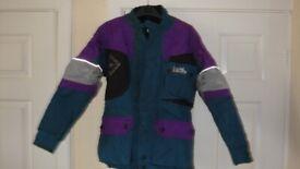Ladies IXS Motorcycle Waterproof Cordura Textile Jacket Size XS