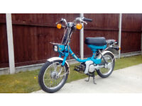 Yamaha QT50 Classic Lightweight Moped with Full MoT