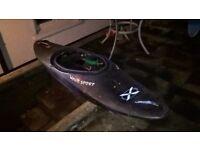 Wavesport X Plastic kayak
