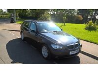 BMW 2007 320 D TURBO DIESEL 2.0 SE 5 DOOR ESTATE TOURING MANUAL, MOT 1895