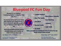 Bluepool fc fun day at bay tree farm