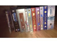 Various box sets - dvd, bluray, 3D bluray most sealed others like new inc family guy, simpsons, rare