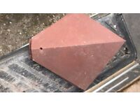 Reclaimed Rosemary Universal Red Clay Arris Hips tiles 40 and 45 Deg