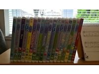 Set of 18 Peppa pig DVD