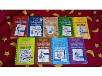 kids books HOLIDAY READING Diary of a Wimpy Kid SAVE £63