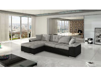SPECIAL OFFER! Corner Sofa Bed diana with storage container sleep function NEW