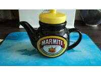 MARMITE Teapot and large storage jar for sale