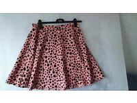 Two Boohoo Summer Skirts