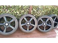 BMW X5 - 22 inch alloy wheels and tyres