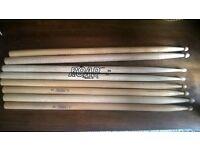 4 pairs of Drum Sticks