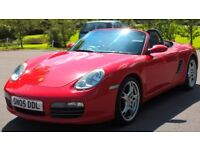 Porsche Boxster S 3.2 987 - 6 Speed Manual - 19'' Alloy Wheels - MOT Til 2019