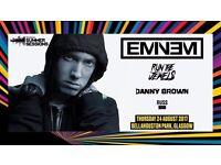 Eminem ticket bellahouston park