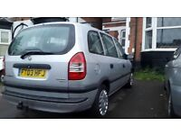 Vauxhall Zafira 2.0DTi - For sale at £699. At a bargain.