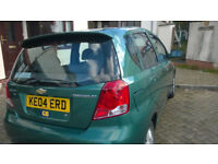 2004 KALOS SX 1.4 16v. SUPERB CONDITION-LOW MILEAGE 58k-Top Range Model + All Extras. £740