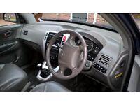 Hyhundai Tucson CDX 4WD 2 litre petrol manual 5 speed 2008 plate