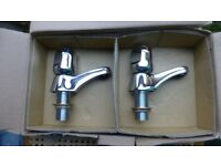 Brand new quality chrome Armitage Shanks Bath Taps and pop-up waste