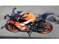 KTM RC125 Motorbike 125cc