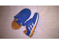 boys addidas trainers size 6