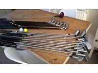 Various Golf Clubs & Bags For Sale.