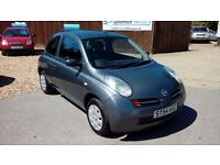 NISSAN MICRA 1.0L & FULL SERVICE HISTORY AND LOW MILEAGE