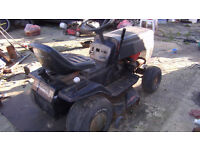 TRACTOR LAWN MOWER FIAT TWIN CYLINDER ELECTRIC START DOES RUN