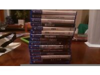 PS4 games for sale - x16 games selling individually or will consider offer for bundle