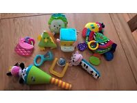 Bundle of newborn, baby and children's toys – excellent clean condition £7 for the bundle