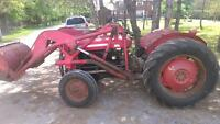 Massey Ferguson 35 tractor with loader