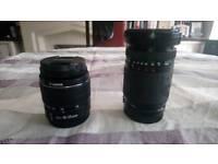 2 Canon lenses