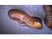 Mens Brown Shoes (Clark's) Size 11H