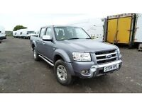FORD RANGER THUNDER DOUBLE CAB 3.0 TDCI 4WD AUTO FULL LEATHER 2008