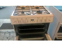 White Gas Cooker 60cm....ex Display Mint