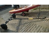 Small Boat\Dinghy Road Trailer