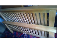 Oak bed king size