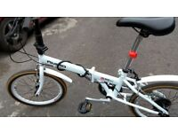 Very good condition folding bike for sale hardly used