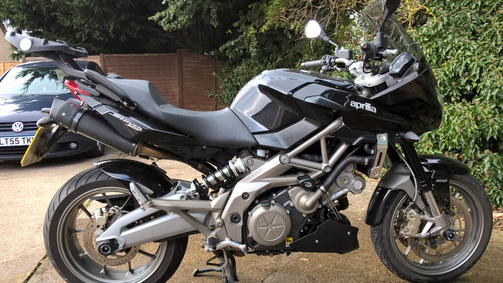 aprilia shiver sl 750 gt abs 2012 in oxford oxfordshire gumtree. Black Bedroom Furniture Sets. Home Design Ideas