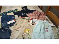 boys baby clothes bundle 0 - 12 months